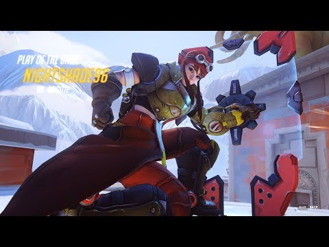 It has begun... Play of the Game as Brigitte