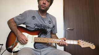 """""""Hindsight"""" Hillsong Y&F - Electric Guitar Tutorial"""