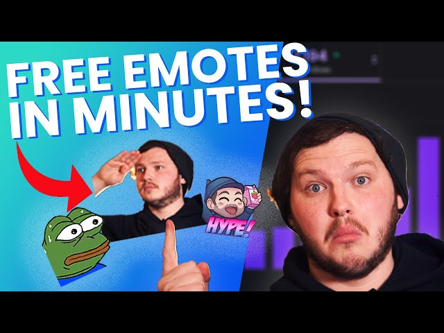 How To Make Twitch Emotes For FREE in 2020! - Twitch Affiliate Guide