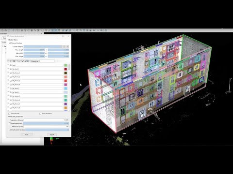 Scan to BIM | Generate BIM with VisionLidar | Export Revit, ArchiCAD, Workflow,
