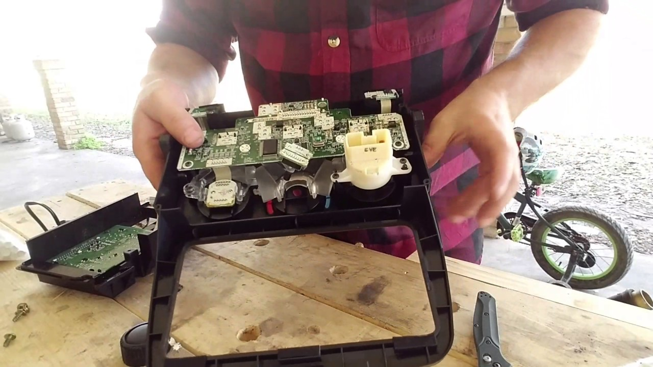 hight resolution of how to fix climate control module 2003 toyota highlander