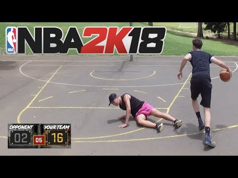 NBA 2K18 MyPARK IN REAL LIFE
