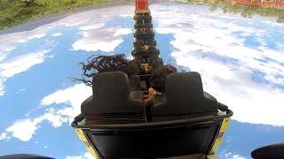 Bullet rear seat on-ride HD POV Selva Mágica