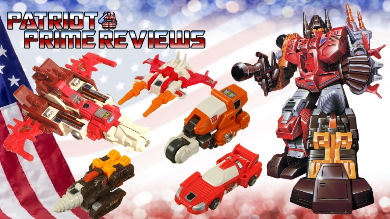 Throwback Thursday: The 1987 G1 Technobots by Patriot Prime Reviews
