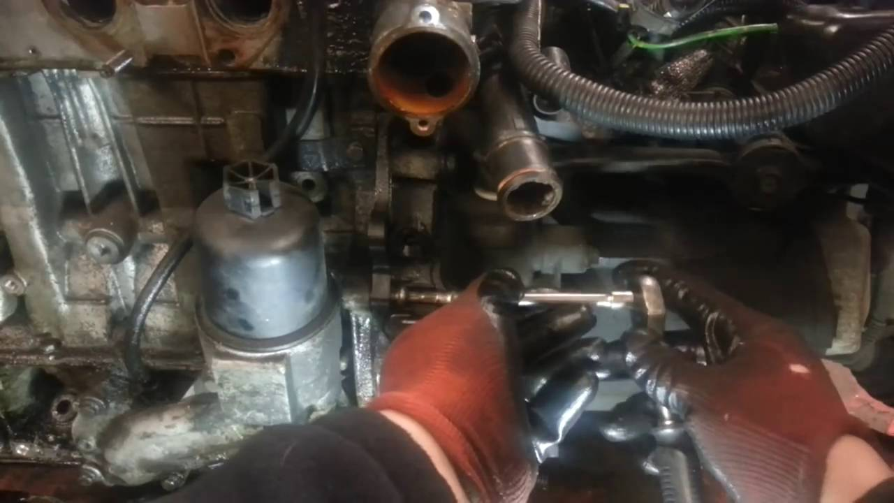 How To Change Replace Crank Shaft Position Sensor Peugeot