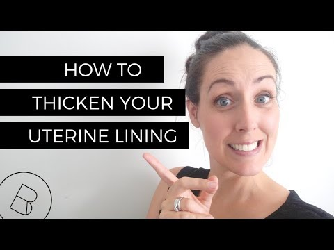 How to Thicken Your Uterine Lining | TTC, IVF, ICSI, IUI – Safe