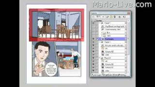 How To Transfer A Background From One Page To The Other Within A Story In Manga Studio
