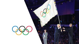 London Handover To Rio (Raising Of The Flags) - Closing Ceremony | London 2012 Olympics