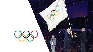 London Handover To Rio (Raising Of The Flags) - Closing Ceremony | London 2012 Olympics