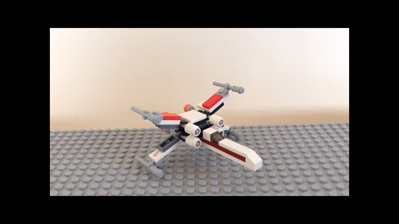 Como hacer una nave de Star Wars de lego - YouTube