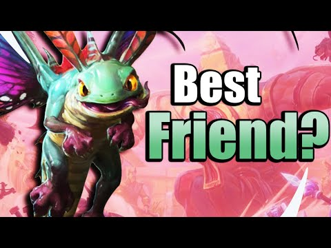 Friendly Faerie Dragon? Brightwing Friends With Phase Shift - Heroes Of The Storm W Kiyeberries