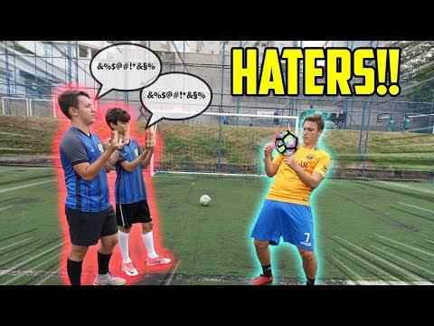 HATERS vs VOSSO CANAL!! ( quem será que ganhou?! )