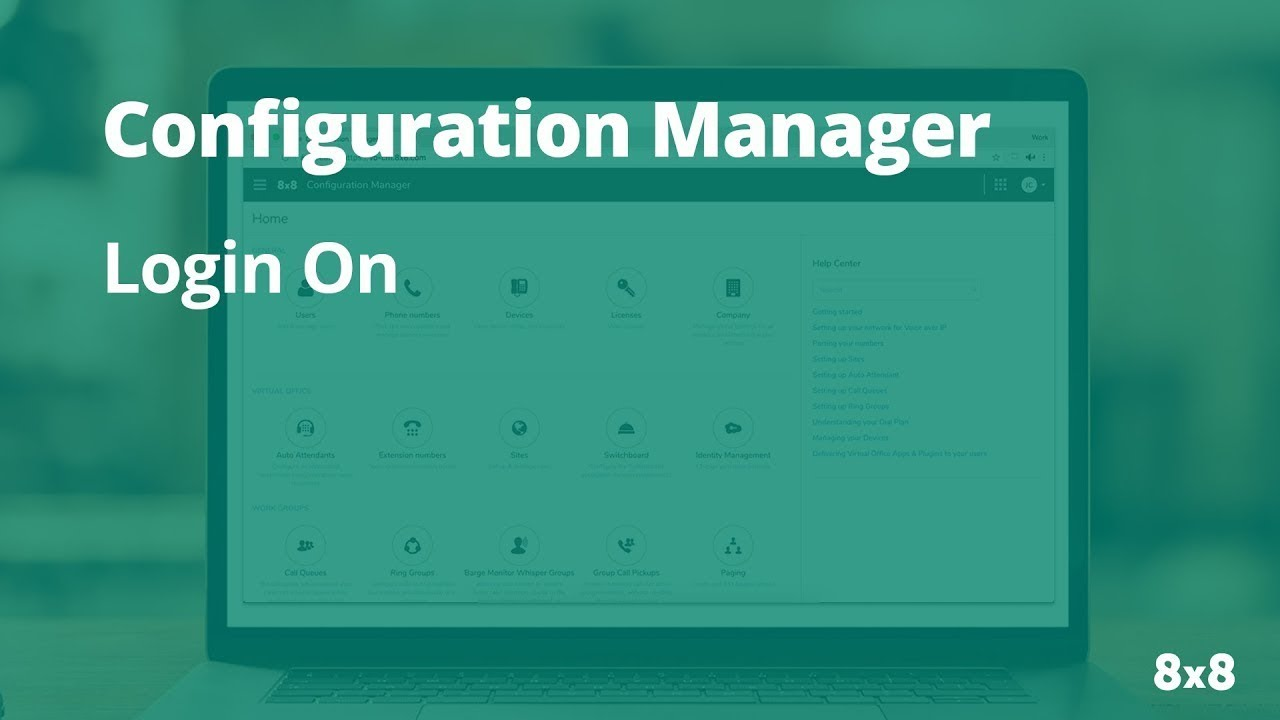 Configuration Manager: How to Login