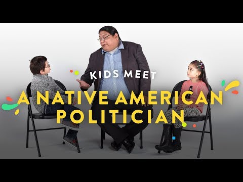 Kids Meet a Native American Politician