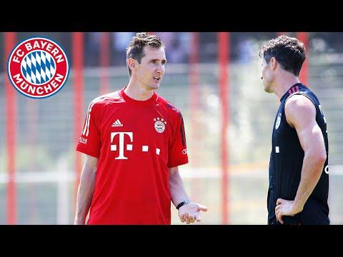 Miroslav Klose's first week as an FC Bayern assistant coach