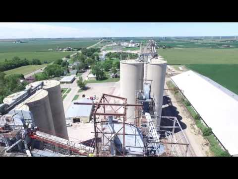 Superior Grain Towers Drone Footage!