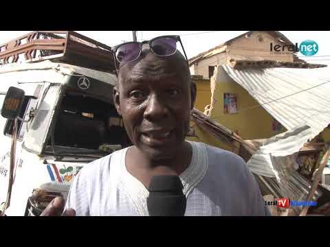Louga: Après l'accident les populations appellent une prudence