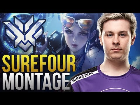 Surefour - CRAZY PRO DPS FROM CANADA  - Overwatch Montage thumbnail