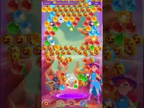 Bubble Witch 3 Saga Level 256 ~ No Boosters