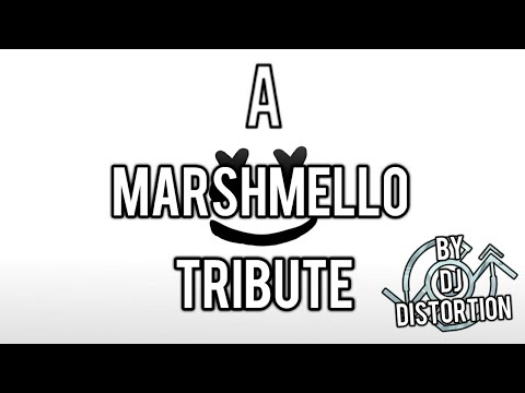 A Marshmello tribute by DJ DISTORTION