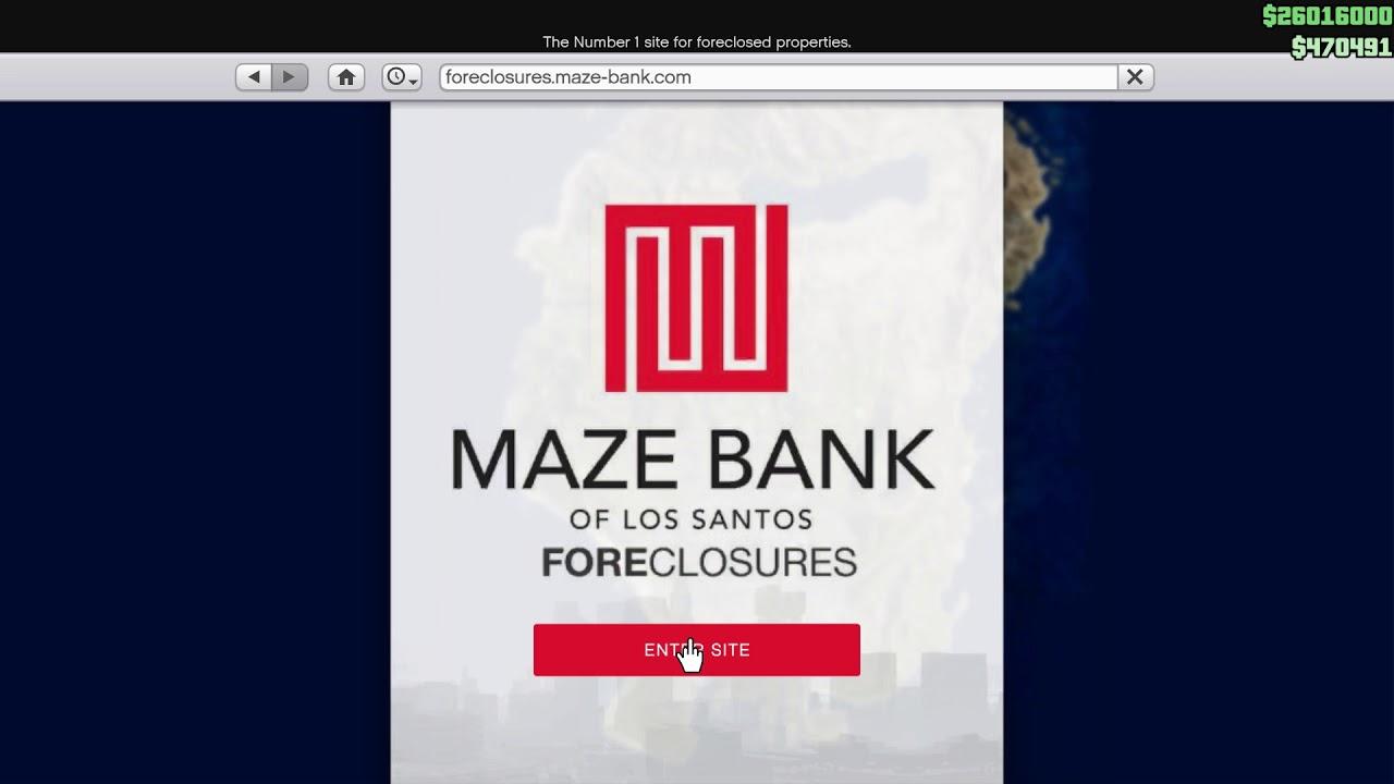 gta 5 maze bank heist