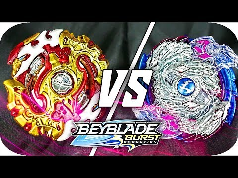 Spryzen Requiem VS Luinor L3 BATTLE!! || Beyblade Burst Evolution || Hasbro Beyblade