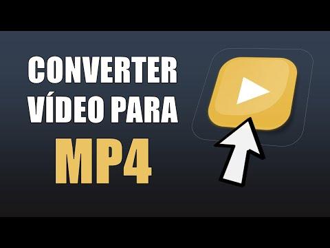 Como Converter Vídeo para o formato MP4 - Online e Grátis