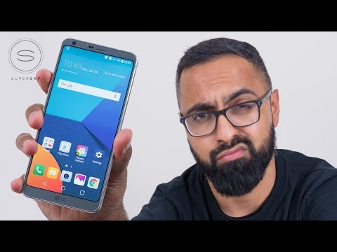 LG G6 Unboxing FINALLY