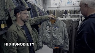 We Tour Portland's Best Army Surplus Stores in Search of Rare Alpha Industries Pieces