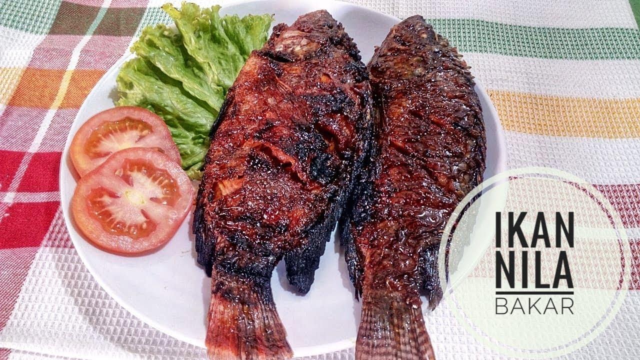 Resep Ikan Nila Bakar Bumbu Kecap Special - YouTube