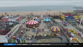 Coney Island's Luna Park Reopens As NYC Continues To Make Its Comeback