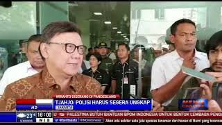 Penusukan Wiranto, Tjahjo: Kita Percaya Polisi Cepat Mengungkap