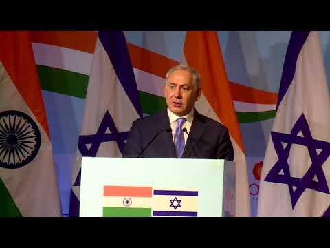 PM Netanyahu and Indian PM Modi Attend India-Israel Business Summit