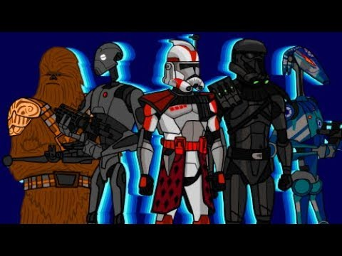 ARC Troopers and Commando Droids first day in Star Wars Battlefront 2... thumbnail