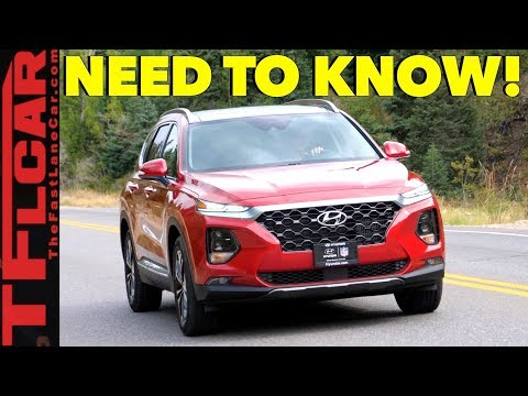 2019 Hyundai Santa Fe Review: These are the Top Ten Improvements