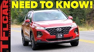 2019 Hyundai Santa Fe Review: These are the Top Ten Improvements