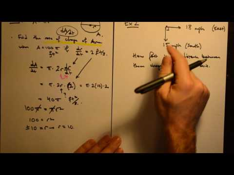 Calculus 1: Related Rates (Level: Easy - Hard)