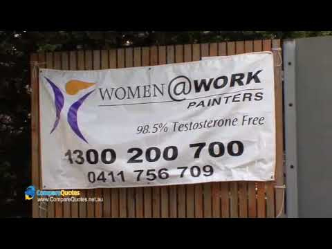 Women @ Work Painters | Melbourne painter & decorator | 98.5% testosterone free | Compare Quotes