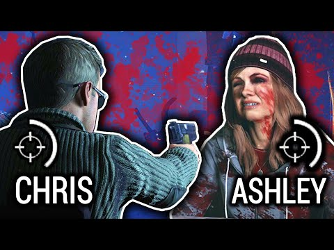 DO I SHOOT CHRIS OR ASHLEY?! - Until Dawn