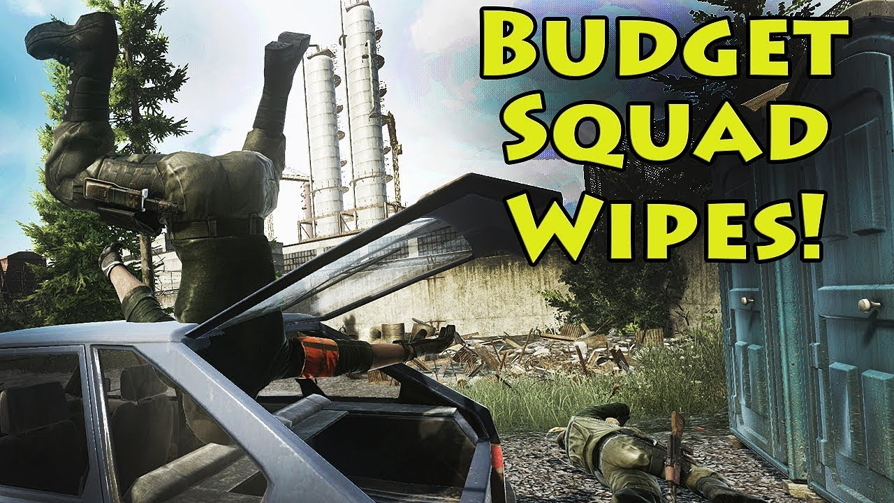Wiping Squads on a Budget - Escape From Tarkov