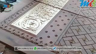 pintu rumah replika masjid nabawi gebyok jendela gebyok