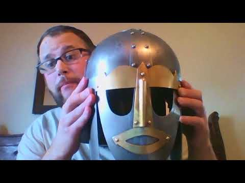 Sutton Hoo Helmet Project, part 2