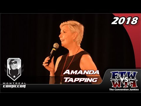 Amanda Tapping Stargate, Sanctuary, Supernatural Montreal Comiccon 2018 Full Panel