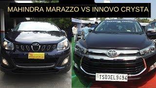 Mahindra Marazzo Vs Toyota Innova Crysta 2019