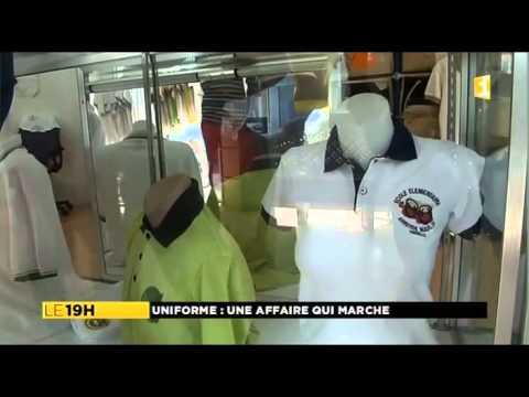 Reportage Le Comptoir des Polos Martinique 1ere