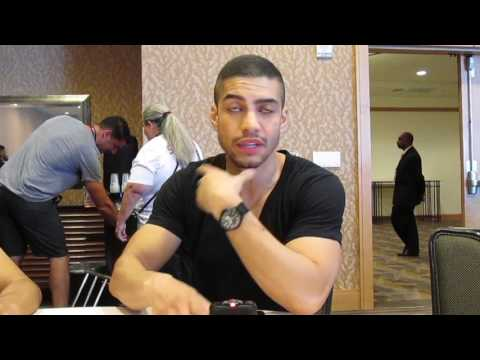 Rick Gonzalez for Arrow at SDCC 2017