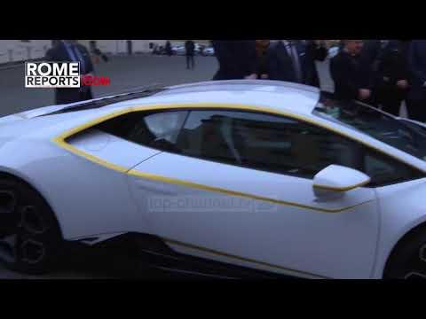 Një Lamborghini i personalizuar, dhuratë për Papën - Top Channel Albania - News - Lajme