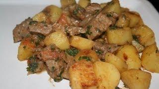 Boeuf braisé avec ses pommes de terre au cumin
