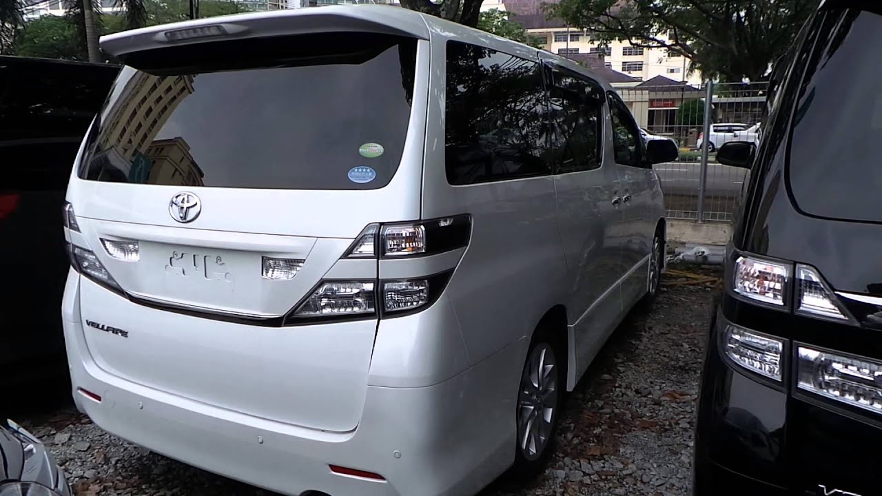 Buy And Sell Cars In Malaysia Toyota Vellfire 2 4 Unreg Mudah My Autocari My Carsifu