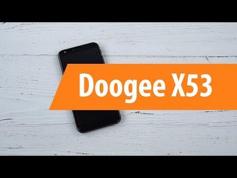 Распаковка смартфона Doogee X53 / Unboxing Doogee X53